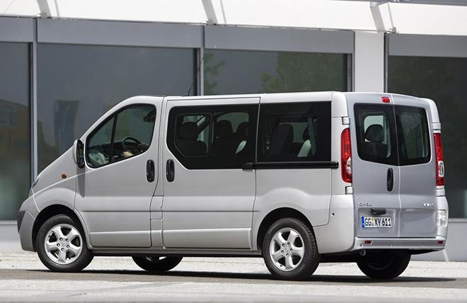 Технические характеристики Opel Vivaro A рестайлинг (2006–2014)